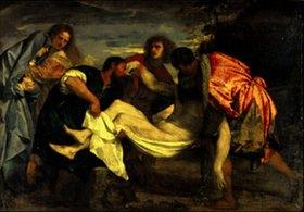Tizian (Tiziano Vecellio): Die Grablegung Christi