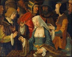Lucas van Leyden: Die Kartenlegerin