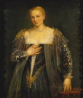 Paolo (Paolo Caliari) Veronese: Bildnis einer Frau (La bella Nani)