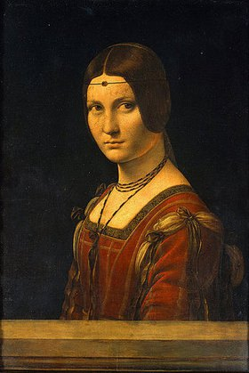 Leonardo da Vinci: Bildnis einer Dame des Mailänder Hofes (La belle Ferroniere)