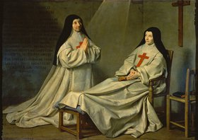 Philippe de Champaigne: Cathérine Agnes Arnauld und Cathérine de Sainte-Suzanne, Tochter des Künstlers