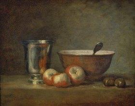 Jean-Baptiste Siméon Chardin: Der Silberbecher