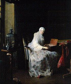 Jean-Baptiste Siméon Chardin: Die Vogelorgel