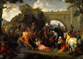 Charles Le Brun: Die Kreuztragung Jesu