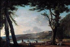 Gustave Moreau: Blick auf die Hügel von Bellevue