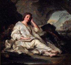 Jean Marc Nattier: Maria Magdalena