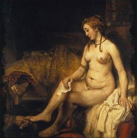 Rembrandt van Rijn: Bathseba im Bade