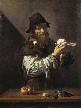 Jusepe de Ribera: Alter Mann mit Zwiebel