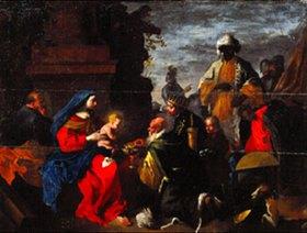 Jean Tassel: Die Anbetung der Könige