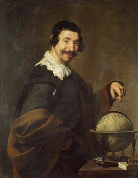 Diego Rodriguez de Velazquez: Demokrit (oder: Mann mit Globus)