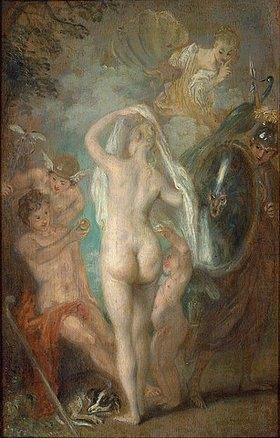 Jean Antoine Watteau: Das Urteil des Paris