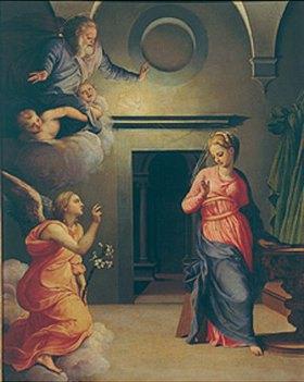 Agnolo Bronzino: Verkündigung Mariae