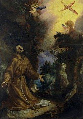 Lodovico Cigoli (Cardi da): Der hl. Franziskus empfängt die Stigmata