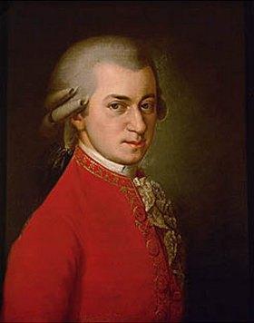 Anonym: Wolfgang Amadeus Mozart, posthumes Portrait