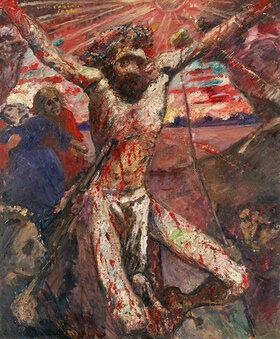 Lovis Corinth: Der rote Christus