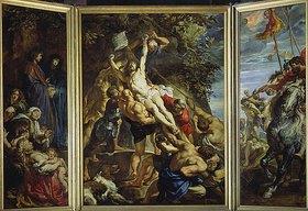 Peter Paul Rubens: Triptychon der 'Kreuzaufrichtung'