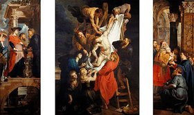 "Peter Paul Rubens: Triptychon der ""Kreuzabnahme Christi"""