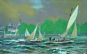Willy Stöwer: Die Segelyacht  Puck