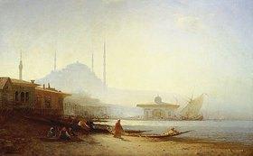 Felix Ziem: Ansicht von Istanbul