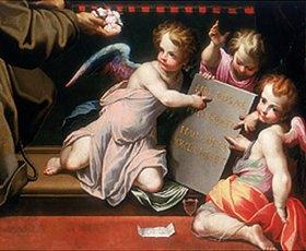 Giovanni Battista (Malosso) Trotti: Putten, Detail aus dem Altarbild