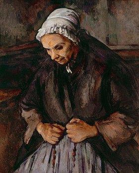 Paul Cézanne: Alte Frau mit Rosenkranz
