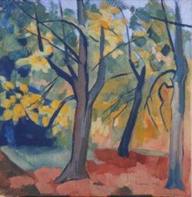 Heinrich Nauen: Bäume