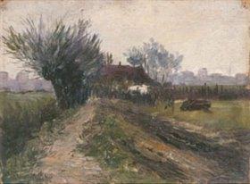Heinrich Nauen: Landschaft bei Orbroich