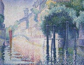 Henri Edmond Cross: Kanal in Venedig