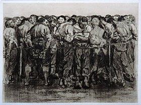 Käthe Kollwitz: Die Gefangenen
