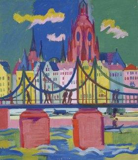 Ernst Ludwig Kirchner: Frankfurter Dom