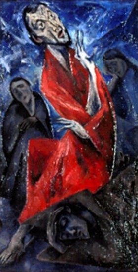 Heinrich Nauen: Christus am Ölberg