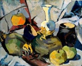 Hans Thuar: Stilleben mit Früchten