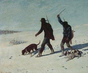 Gustave Courbet: Die Wilddiebe (Les Braconniers)