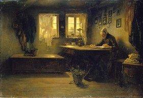 Anton Burger: Häusliche Andacht