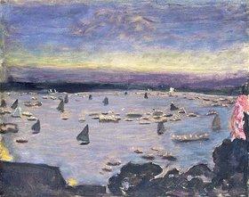Pierre Bonnard: Lampionkorso auf der Außenalster