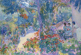 Henri Edmond Cross: Le Jardin