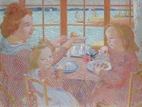 Maurice Denis: Frühstück auf der Veranda