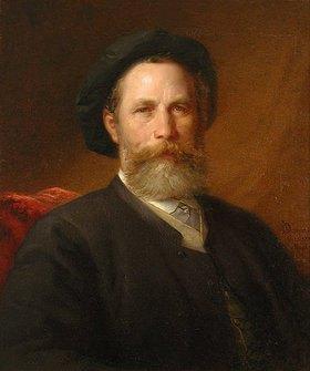 Otto Ph Donner von Richter: Bildnis des Malers Christian Adolf Schreyer