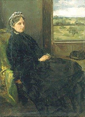 Louis Eysen: Bildnis der Mutter des Künstlers