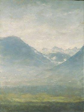 Louis Eysen: Blick ins Ulten-Tal