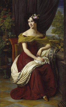 Friedrich Wilhelm von Schadow: Bildnis der Fanny Ebers