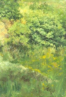 Louis Eysen: Gebüsch. 1877