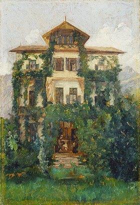 Louis Eysen: Die Villa Holstein bei Meran