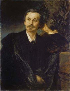 Franz von Lenbach: Bildnis Graf Schack