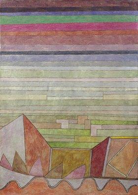 Paul Klee: Blick in das Fruchtland