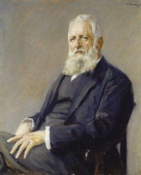 Max Liebermann: Bildnis des Frankfurter Bürgermeisters Dr. Franz Adickes (1846-1915). 1911.