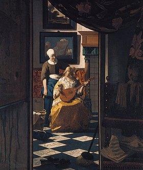 Jan Vermeer van Delft: Der Liebesbrief