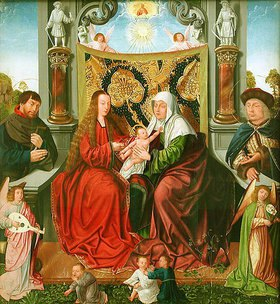 Meister der Heiligblut-Kapelle: Die Heilige Sippe