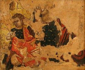 Kretischer des 16. o. 17. Jhs. Meister: Madonna mit Kind (Fragment)