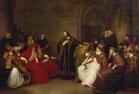 Carl Friedrich Lessing: Johann Hus zu Konstanz